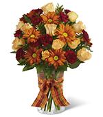 The Golden Autumn Bouquet