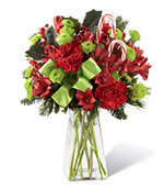 The Candy Cane Lane Bouquet